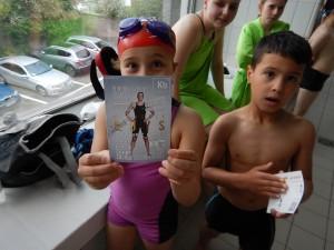 KAZSC Paco zwemfeest 2016 - handtekening Kimberly Buys